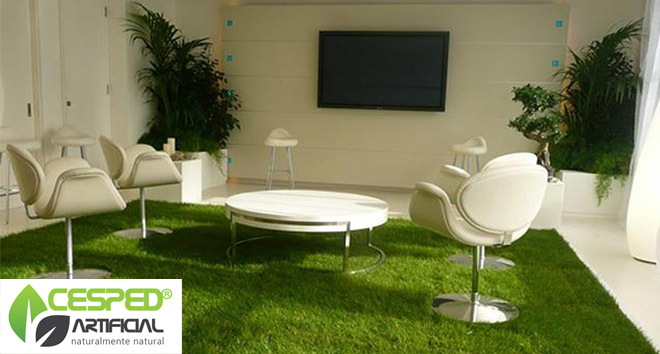 Cesped artificial venta de cesped artificial en madrid for Jardin artificial interior