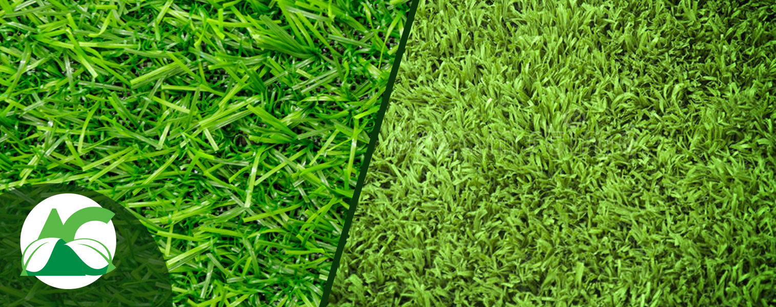 Césped artificial vs. césped natural